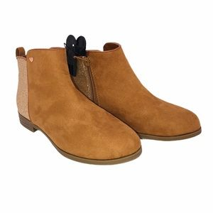 (SH-080) Wonder Nation Brown Boots Size 3